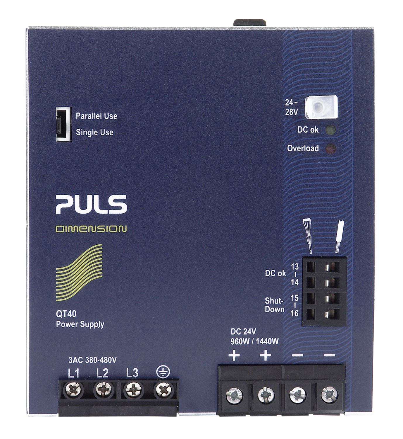Qt40241 Din Rail Power Supplies For 3 Phase Systems Audio Amplifier Circuit Diagram30 Watts