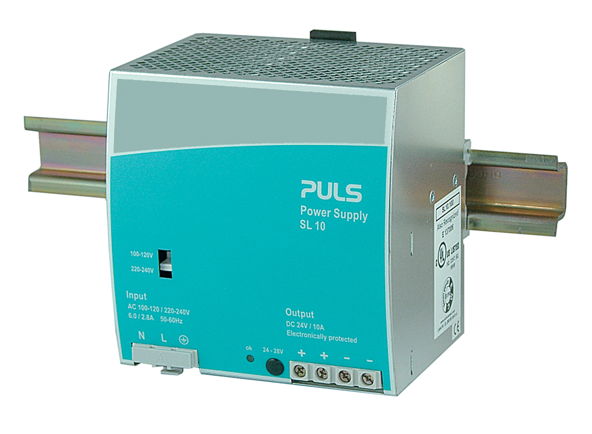 Puls Power Supply Netzteil SL 10 SL10.100 240V DC24V 10A Top Zustand TESTED