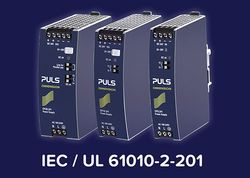 PULS is already testing its power supplies according to IEC / UL 61010-2-201.