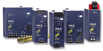 1-phase DIN rail power supplies | 15W to 1,000W | PULS