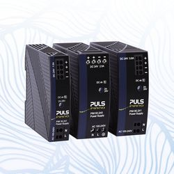 New 36W, 60W and 90W DIN rail power supplies with basic functionality