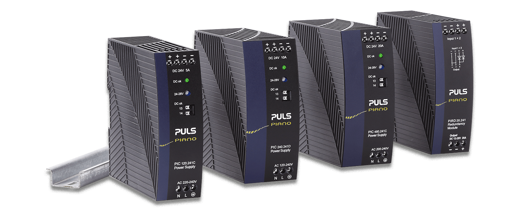 New PIANO power supplies