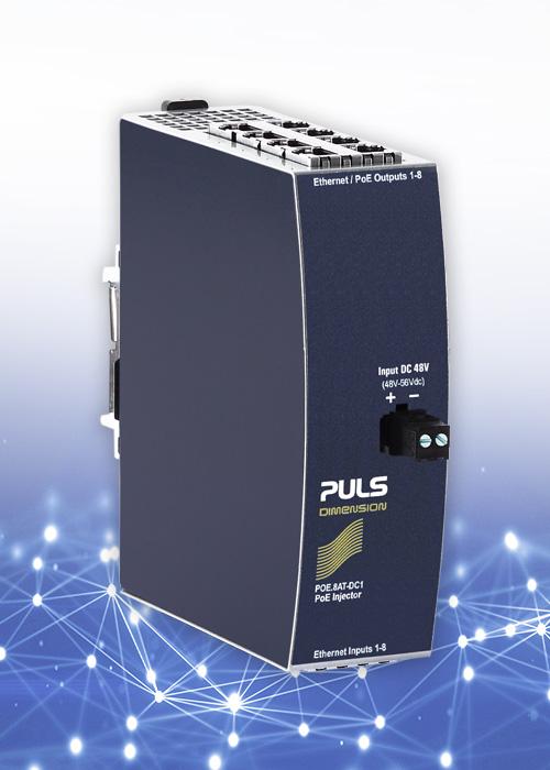 Industrial Poe Injectors Power Over Ethernet Puls