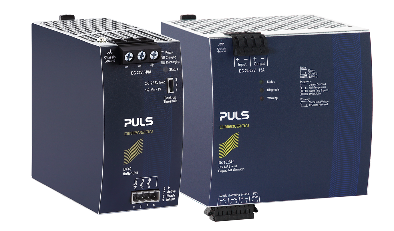 Dc Ups And Buffer Modules Puls